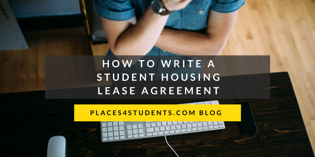 Places4students helping students find a home away from home the lease agreement is the most important component of any rental arrangement including student housing the following template will give landlords a platinumwayz