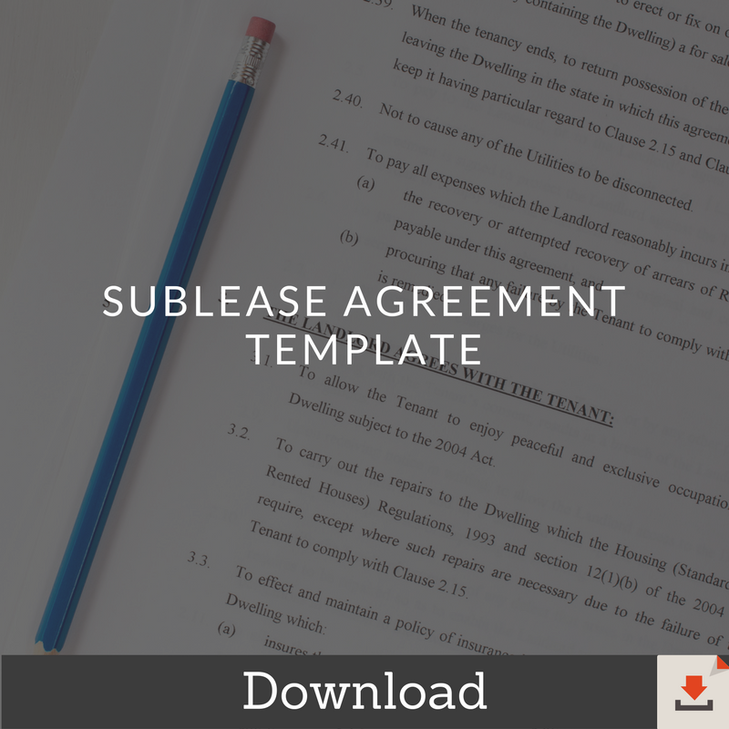 Sublease-Agreement-Template