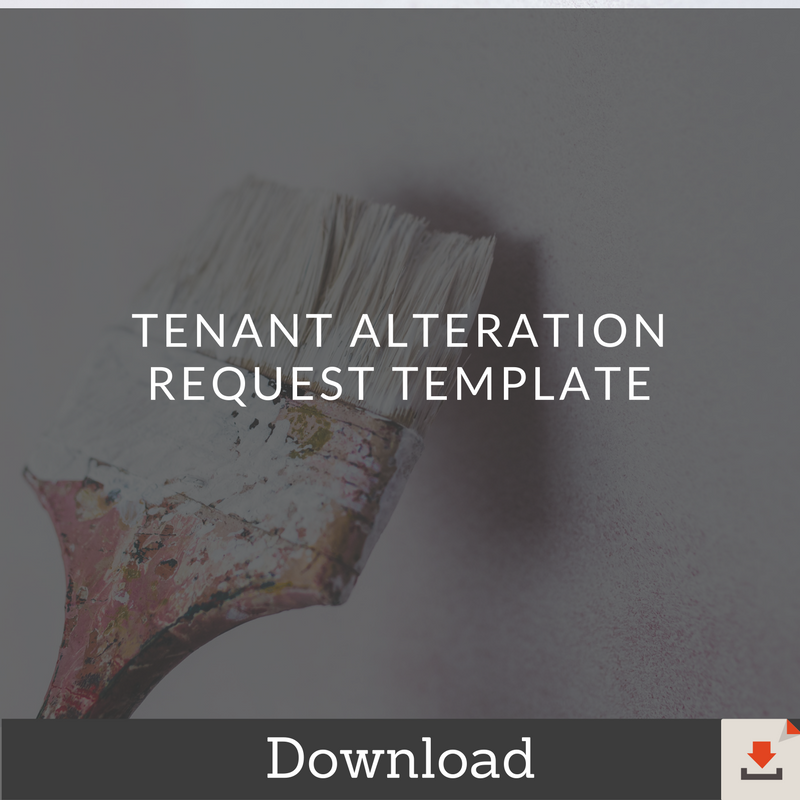 Tenant-Alteration-Request